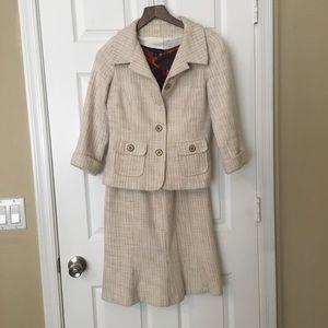 WHBM Jacket and Skirt